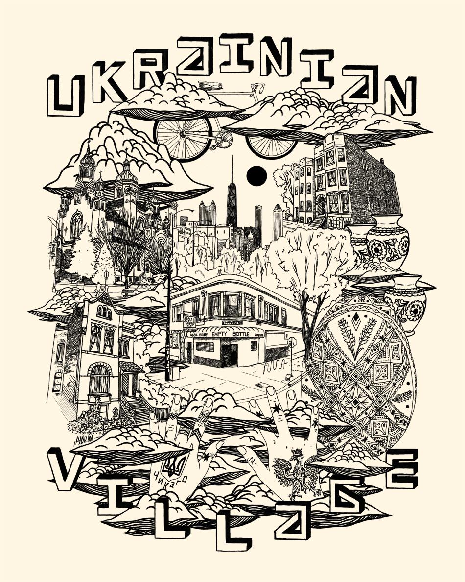 """""""Ukrainian Village"""" by Ian Ferguson"""